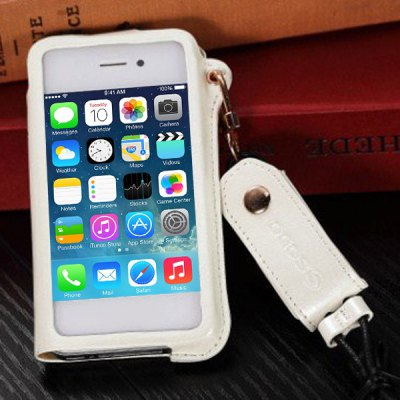 Business Style PU Leather Protective Case Cover for iPhone 4 / 4SiPhone Cases/Covers<br>Business Style PU Leather Protective Case Cover for iPhone 4 / 4S<br><br>For: Mobile phone<br>Compatible for Apple: iPhone 4/4S<br>Features: Full Body Cases<br>Material: PU Leather<br>Style: Special Design<br>Color: White, Blue, Rose, Black<br>Product weight : 0.050 kg<br>Package weight : 0.100 kg<br>Product size (L x W x H): 4.7 x 2.7 x 0.7 inches<br>Package size (L x W x H) : 16.0 x 8.0 x 2.5 cm<br>Package contents: 1 x Case