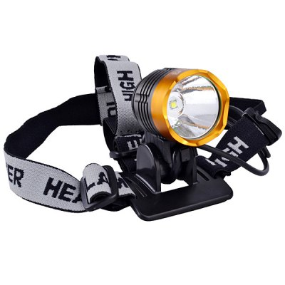 SingFire SF - 90 Cree XM - L T6 4 Modes 1000lm 18650 LED Headlamp with Battery and Charger - SINGFIREHeadlights<br>SingFire SF - 90 Cree XM - L T6 4 Modes 1000lm 18650 LED Headlamp with Battery and Charger<br><br>Brand: Singfire<br>Headlight brand: SingFire<br>Model: SF-90<br>Function: Walking, Hunting, Exploring, Fishing, Camping, Seeking Survival, Hiking<br>Feature: Stainless Steel Bezel<br>Lumen: 1000 Lumens<br>Emitter type: XM-L T6<br>Emitter number: 1 x Cree XML T6<br>Mode: 4 (High &gt; Mid &gt; Low &gt; Strobe)<br>Battery  : 4 x 18650 battery (Included)<br>Power source: Battery<br>Reflector: Aluminum smooth reflector<br>Lens: Glass Lens<br>Working time: 4 hrs<br>Waterproof: IPX-6 Standard Waterproof<br>Focus: No<br>Rechargeable: Yes<br>Color: Pink, Red, Yellow, Blue, Green, Silver<br>Beam Distance: 200-300m<br>Body Material: Aluminium Alloy<br>Product weight: 0.093 kg<br>Package weight: 0.67 kg<br>Product size (L x W x H): 6.2 x 5.4 x 5.2 cm<br>Package size (L x W x H): 10 x 10 x 10 cm<br>Package Contents: 1 x Headlamp, 1 x Wall Charger, 1 x 4-18650 Battery Pack, 2 x O-ring, 1 x Gift Box, 1 x English Use Manual