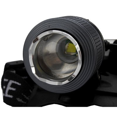 SingFire SF - 557 Cree XM - L T6 3 Modes 800lm 18650 LED Headlamp with Battery and Charger