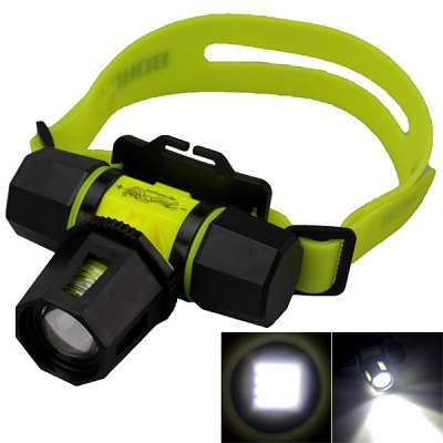 SingFire T6 2-Mode 800lm 18650 LED Diving Headlamp