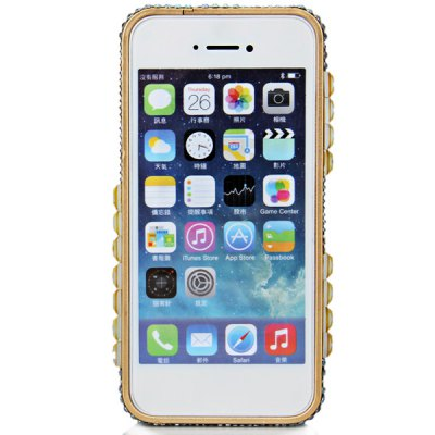 Фотография Artificial Diamond Style Metal Material Hard Bumper Frame for iPhone 5 / 5S
