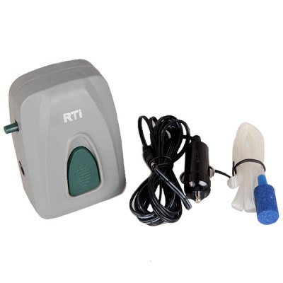Фотография Ultra - quiet Oxygen Supply Increasing Air Pump with Car Charger for Fish Tank