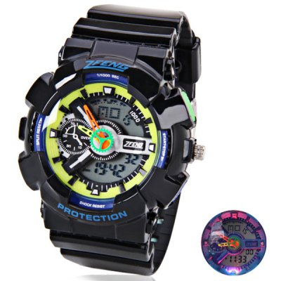 Quartz 7-color LED Watch