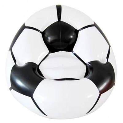 Inflatable Football Shape Sofa Seat Inflatable Couch for Indoor and Outdoor Activities