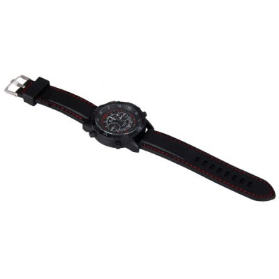 Гаджет   Cool Men Watch Analog with Round Dial Silicone Watch Band Men