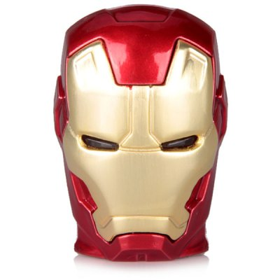 Гаджет   16GB Iron Man 2 Robot Head Retractable USB Flash Disk USB Flash Drives