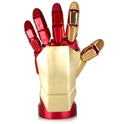 32GB Iron Man Robot Flexible Palm Shaped USB Flash DiskUSB Flash Drives<br>32GB Iron Man Robot Flexible Palm Shaped USB Flash Disk<br><br>Capacity: 32G<br>Type: USB Stick<br>Features: Cartoon<br>Available Color: Red<br>Style: Stylish<br>Interface: USB 2.0<br>Product Weight: 28 g<br>Package Weight: 0.090 kg<br>Product Size (L x W x H): 7.0 x 3.0 x 1.6 cm/2.8 x 1.2 x 0.6 inches<br>Package Size (L x W x H): 16 x 11 x 3 cm<br>Package Contents: 1 x USB Flash Memory