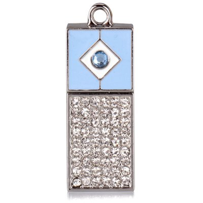 32GB Metal + Crystal USB Flash Disk with Magnet