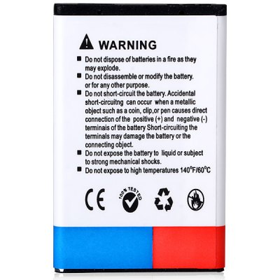 Link Dream High Capacity 3.7V 1390mAh Durable Lithium - ion Battery for Nokia 2650 / 5100 / 6100 / 6103 / 6125 / 6131Mobile Phone Batteries<br>Link Dream High Capacity 3.7V 1390mAh Durable Lithium - ion Battery for Nokia 2650 / 5100 / 6100 / 6103 / 6125 / 6131<br><br>Type: Replacement Battery<br>Brand: Link Dream<br>Compatibility: Nokia<br>Compatible Model: 2650/5100/6100/6103/6125/6131<br>Capacity: 1390mAh<br>Voltage: 3.7V<br>Product weight: 0.016 kg<br>Package weight: 0.070 kg<br>Product size (L x W x H) : 5.3 x 3.4 x 0.5 cm/2 x 1.3 x 0.2 inches<br>Package size (L x W x H): 10 x 8 x 3 cm<br>Package Contents: 1 x Battery