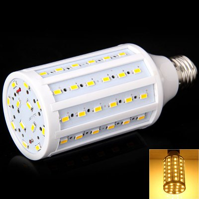 E27 20W 72-LED AC220-240V Warm White Corn Lamp