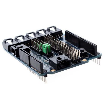 Arduino Compatible Sensor Shield V4.0 Expansion Board (100 Percent Arduino Compatible)Other Accessories<br>Arduino Compatible Sensor Shield V4.0 Expansion Board (100 Percent Arduino Compatible)<br><br>Architecture: Arduino<br>Product Weight: 29 g<br>Package Weight: 0.050 kg<br>Product Size(L x W x H): 6.8 x 5.7 x 2.3 cm/ 2.7 x 2.2 x 0.9 inches<br>Package Size(L x W x H): 9.0 x 7.0 x 3.0 cm<br>Package Contents: 1 x Sensor Shield V4.0 Expansion Board