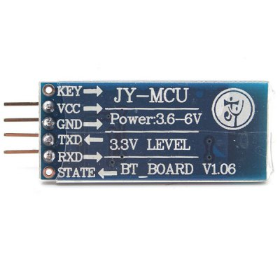 JY - MCU HC - 006 Bluetooth Wireless Serial Port Module V1.06 Slave Module (Arduino Compatible Core Module)