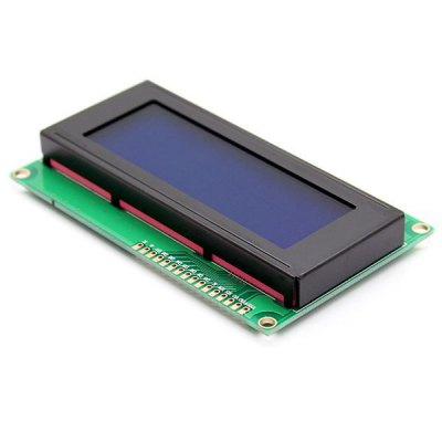 Гаджет   Arduino Compatible Serial 3.1 inch LCD 2004 Display Shield Module (Blue Backlight) LCD,LED Display Module