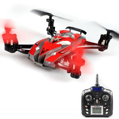 JX - 389 Brand - new Experience Multifunctional RC 2.4G 6 - Axis Gyro High - strength Materials Both Road and Air Fight 2 in 1 Model Toy