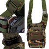 Military Style Waterproof Tools Shoulder Bag Large Saddle Bag for Outdoor Sports for sale