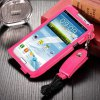 cheap Business Style PU Leather Protective Case Cover for Samsung Galaxy Note 2 N7100