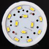 E27 20W 72 x 5730 SMD LED AC220 - 240V 1800lm White 6000 - 6500K Corn Lamp for sale