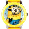 Popular Women Watch Analog with Bee-do Round Dial Leather Watch Band deal