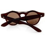Fashion Punk Style Two Layer Flip Lens Sunglasses with Black Plastic Frame for Women for sale