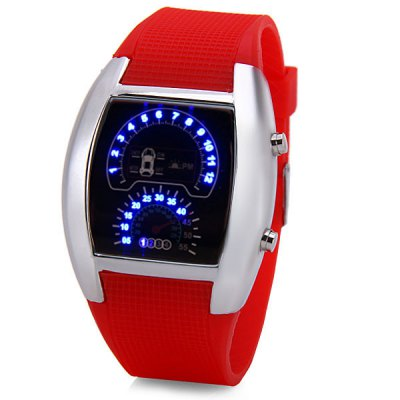 Quartz LED Watch
