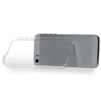 Гаджет   Ultrathin 0.3mm Design Soft Transparent TPU Case for iPhone 5 / 5S iPhone Cases/Covers