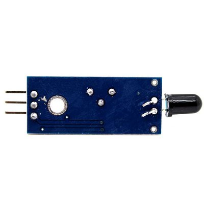 Arduino Compatible IR Infrared Flame Sensor Module  -  LM393 Chipset in Comparator