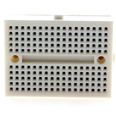 Mini 170 Tie Points Prototype Solderless Breadboard for Electronic Circuit Assembly, Debugging, Training