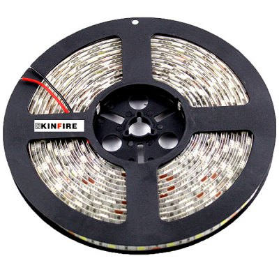 Гаджет   Kinfire 72W 3000lm 300 x SMD 5050 LED White Waterproof Car Decoration Light Strip (12V / 5m) LED Strips