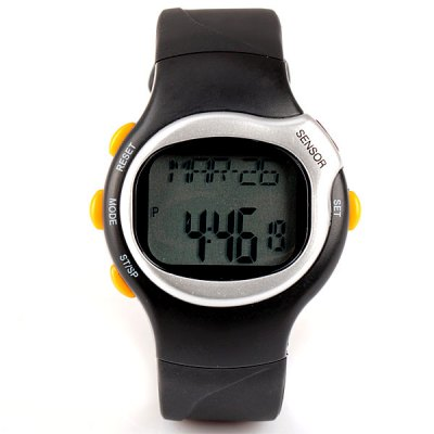 Гаджет   Multifunctional Heart Rate Monitor Rubber Band Digital Wrist Watch with Date Sports Watches