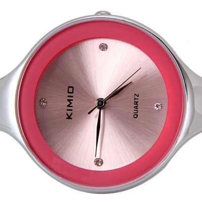 Waterproof Stylish Women Bracelet Watch Analog with Round Dial Steel Watch BandWomens Watches<br>Waterproof Stylish Women Bracelet Watch Analog with Round Dial Steel Watch Band<br><br>Band material: Stainless Steel<br>Case material: Stainless Steel<br>Clasp type: Buckle<br>Movement type: Quartz watch<br>Package Contents: 1 x Watch<br>Product size (L x W x H): 6.00 x 5.50 x 3.30 cm / 2.36 x 2.17 x 1.3 inches<br>Product weight: 0.036 kg<br>Shape of the dial: Round<br>Style: Bracelet<br>The dial diameter: 3.3 cm/1.3 inch<br>The dial thickness: 0.6 cm/0.2 inch<br>Watches categories: Female table<br>Water resistance : Life waterproof
