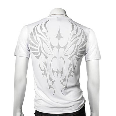 Casual Style Round Neck Facial Makeup Print Short Sleeves Mens Polyester T-shirtMens Short Sleeve Tees<br>Casual Style Round Neck Facial Makeup Print Short Sleeves Mens Polyester T-shirt<br><br>Material: Cotton, Polyester<br>Sleeve Length: Short<br>Collar: Round Neck<br>Style: Fashion<br>Weight: 0.500KG<br>Package Contents: 1 x T-shirt<br>Pattern Type: Others