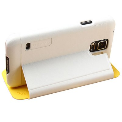 ФОТО USAMS Merry Series PU + PC Cover Case with Stand for Samsung Galaxy S5 i9600 SM - G900