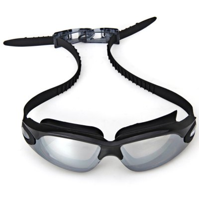 Гаджет   Popular OP928 Electroplating Lens Anti - fog and Anti - UV Silicone Swimming Glasses for Adult Swimming