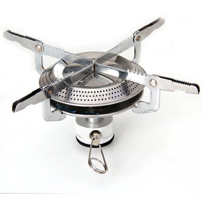 Mini Size Stainless Steel Camping Picnic Stove for Outdoor Camping BBQ Picnic