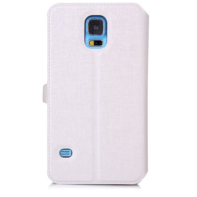ФОТО D Magnetic Flip Style Plastic and PU Leather Stand Case with View Window for Samsung Galaxy S5 i9600 SM - G900