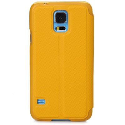 Гаджет   Hello Deere Window Series Plastic and PU Leather Stand Case with View Window for Samsung Galaxy S5 i9600 SM - G900 Samsung Cases/Covers