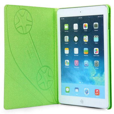 ФОТО Xundd Old Lemon Series PU Leather and Plastic Material Case with Stand Function for iPad Air