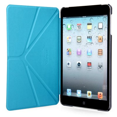 ФОТО Xundd Hami Melon Series PU Leather and Plastic Material Case with Stand Function for iPad Mini 1 / 2