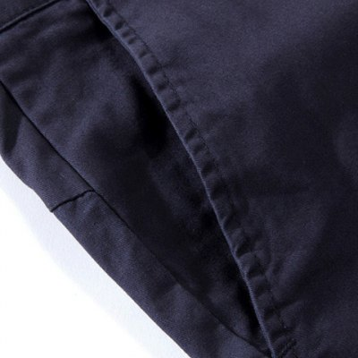 Korean Style Slimming Scorpion Embroidery Cotton Shorts For Men