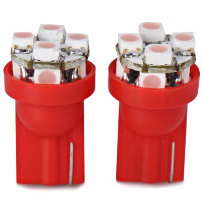 2pcs/Pack Plastic Housing 12V T10 Circuit Board SMD 1210 LED Pink Light Bulbs for Car Instrument/Reading/Side Marker LampCar Lights<br>2pcs/Pack Plastic Housing 12V T10 Circuit Board SMD 1210 LED Pink Light Bulbs for Car Instrument/Reading/Side Marker Lamp<br><br>Type   : Instrument Lights<br>Connector: T10<br>LED type: SMD 1210<br>LED Quantity: 8 x 2<br>Emitting color : Yellow, Blue, Red, Pink, White<br>Voltage  : 12V<br>Type of lamp-house : LED<br>Features: Low Power Consumption<br>Product weight   : 1 g (1pcs)<br>Product size (L x W x H)  : 2.1 x 1.0 x 1.0 cm / 0.8 x 0.4 x 0.4 inches (1pcs)<br>Package contents: 2 x T10 Instrument Light