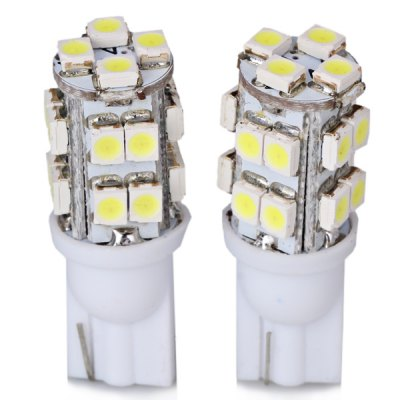 Гаджет   2pcs/Pack 12V T10 Circuit Board SMD 1210 20 - LED White Light Bulbs for Car Instrument/Reading/Side Marker Lamp