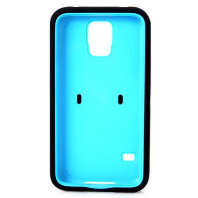 ФОТО Zebra Style Plastic and Silicone Material Anti - Shock Case for Samsung Galaxy S5 i9600 SM - G900