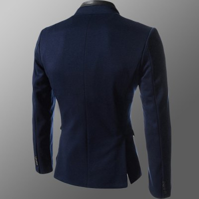 Fashion Style Stand Collar Slimming Single Breated Cotton Blazer For MenMens Blazers<br>Fashion Style Stand Collar Slimming Single Breated Cotton Blazer For Men<br><br>Material: Cotton<br>Clothing Length: Regular<br>Closure Type: Single Breasted<br>Weight: 1KG<br>Package Contents: 1 x Blazer