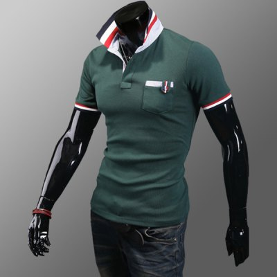 Casual Style Turn-down Collar Pocket Embellished Short Sleeves Polyester Polo Shirt For MenMens Shirts<br>Casual Style Turn-down Collar Pocket Embellished Short Sleeves Polyester Polo Shirt For Men<br><br>Material: Polyester<br>Sleeve Length: Short<br>Collar: Turn-down Collar<br>Style: Casual<br>Weight: 0.5KG<br>Package Contents: 1 x Polo Shirt<br>Pattern Type: Patchwork