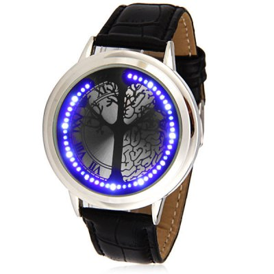 Touch Control LED Watch