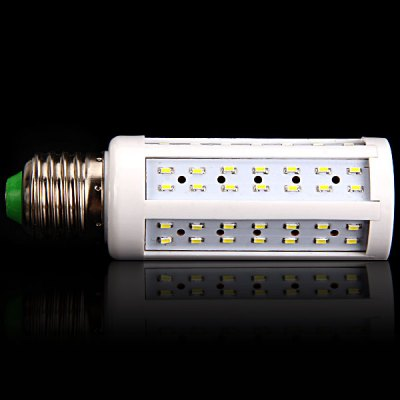 E27 10W 96 x 3014 SMD LED AC220V 900lm White 6000K Corn LampLED Light Bulbs<br>E27 10W 96 x 3014 SMD LED AC220V 900lm White 6000K Corn Lamp<br><br>Base Type: E27<br>Type: Corn Bulbs<br>Output Power: 10W<br>Emitter Type: 3014 SMD LED<br>Total Emitters: 96<br>Lumen(s): 900lm<br>Voltage (V): AC 220<br>Features: Long Life Expectancy, Low Power Consumption, Energy Saving<br>Function: Home Lighting, Studio and Exhibition Lighting, Commercial Lighting<br>Available Light Color: Natural White, Warm White<br>Sheathing Material: Plastic<br>Product Weight: 0.045 kg<br>Package Weight: 0.1 kg<br>Product Size (L x W x H): 3.5 x 3.5 x 11 cm (1.38 x 1.38 x 4.33 inches)<br>Package Size (L x W x H): 5 x 5 x 13 cm<br>Package Contents: 1 x Corn Light