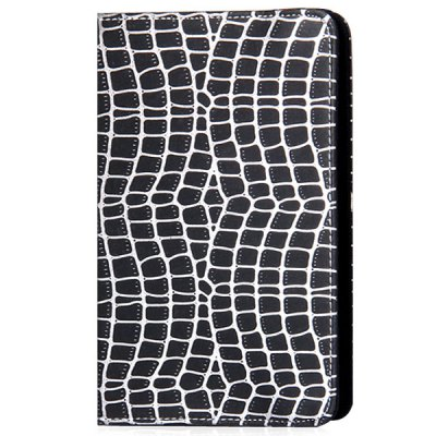 ФОТО ZW - 070 Foldable Stand Function Design Adjustable Snake Texture Pattern Artificial Leather Material 7 inch Tablet PC Protective Case