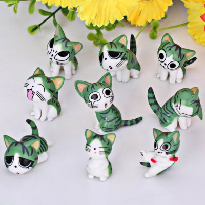 Set of 9pcs Hot Anime Chis Sweet Home Characteristic Figure Models Toy