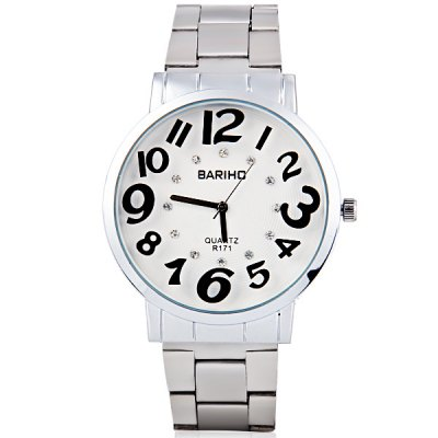 Bariho Unique Waterproof Men Quartz Watch with Analog Round Dial Steel WatchbandMens Watches<br>Bariho Unique Waterproof Men Quartz Watch with Analog Round Dial Steel Watchband<br><br>Brand: Bariho<br>Watches categories: Male table<br>Watch style: Fashion<br>Movement type: Quartz watch<br>Shape of the dial: Round<br>Display type: Pointer<br>Case material: Stainless steel<br>Band material: Stainless steel<br>Clasp type: Buckle<br>Water Resistance: Life waterproof<br>The dial thickness: 0.9 cm/0.4 inch<br>The dial diameter: 4.0 cm/1.6 inch<br>Product weight: 0.068 kg<br>Product size (L x W x H): 21.0 x 4.0 x 0.9 cm/8.3 x 1.6 x 0.4 inches<br>Package Contents: 1 x Watch