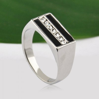 Chic Rhinestone Inlaid Square Ring For MenMens Jewelry<br>Chic Rhinestone Inlaid Square Ring For Men<br><br>Gender: For Men<br>Material: Rhinestone<br>Metal Type: Lead-tin Alloy<br>Style: Trendy<br>Shape/Pattern: Geometric<br>Metal Color: Antique Silver Plated<br>Diameter: 1.9CM<br>Weight: 0.05KG<br>Package Contents: 1 x Ring